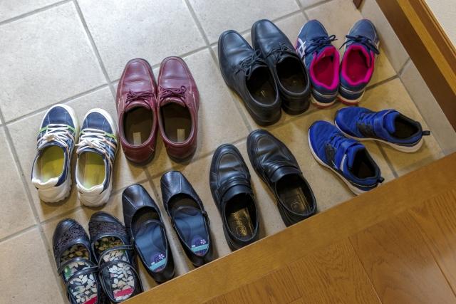 Genkan_Chaussures alignées