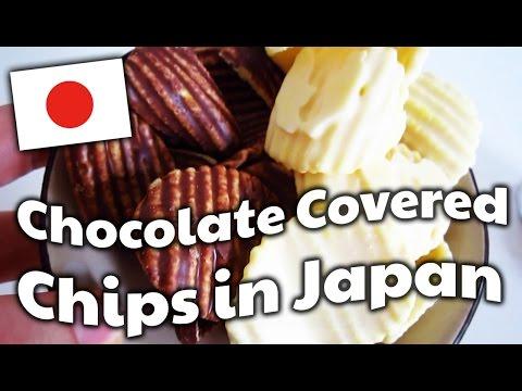 Rien que pour avoir inventé ces délicieuses chips au chocolat qui te ruine tes hanches/cuisses en deux trois mouvements, je maudis le Japon !