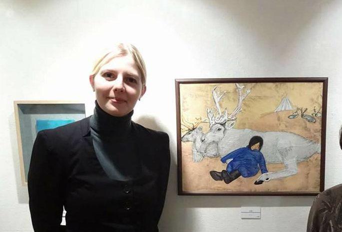 Amélie et la peinture
