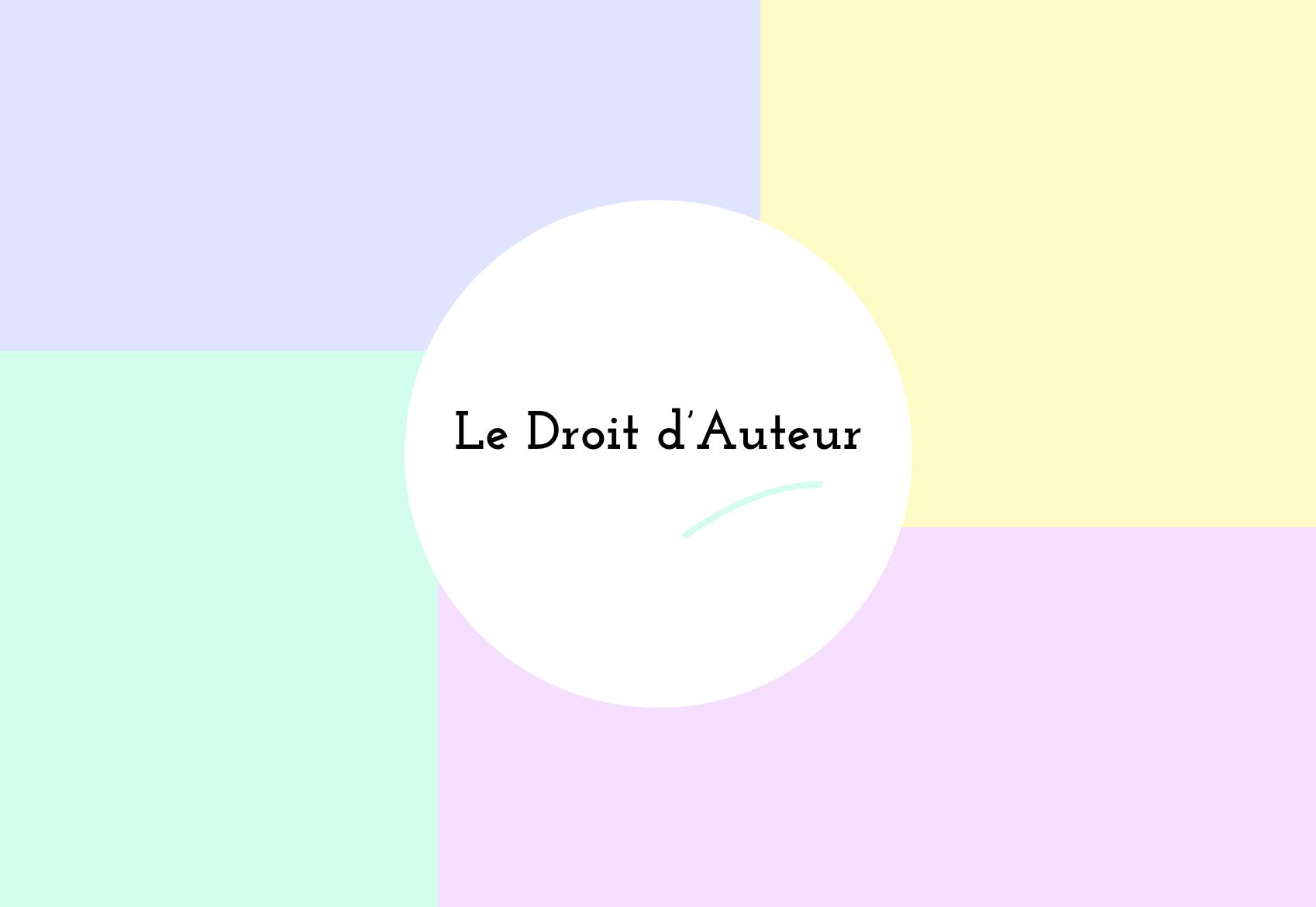 Les Droits D Auteurs Dans Les Metiers Graphiques Amelie Rimbaud