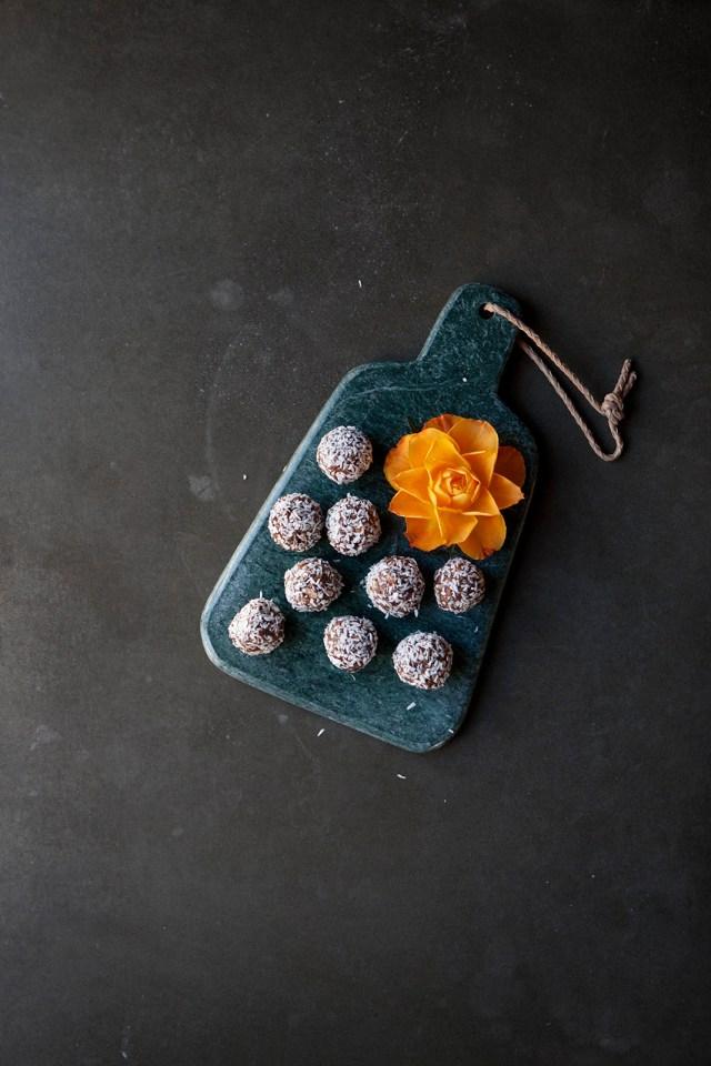 Dadelbollar, nyttigt fika, Amelie von Essen