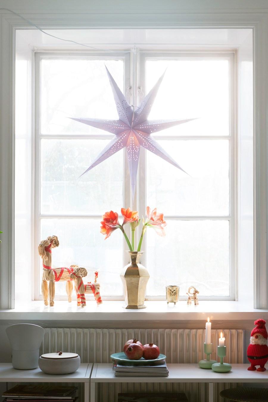 Julfint, jul nordisk skandinavisk traditionell julpynt juldekorationer snygga vackra fina amelies hus von essen julgran julgranen