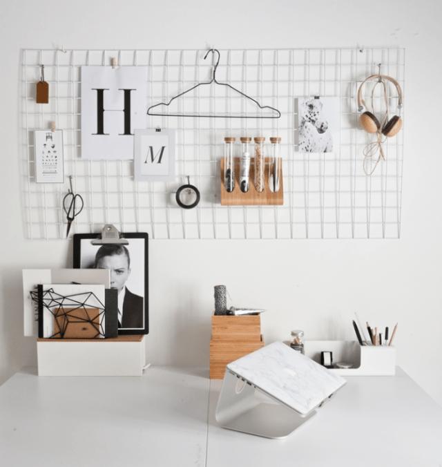 Inspiration skrivbordsplats arbetsplats pysselhörna skrivbord diy Amelies hus Amelie von Essen