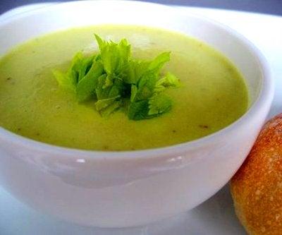 soupe de céléri