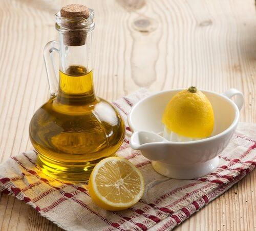 Remède d'huile d'olive et de citron