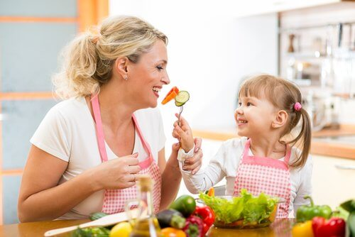 éducation des enfants pour combattre le syndrome de l'alimentation sélective