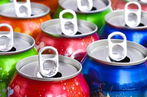 canettes de soda