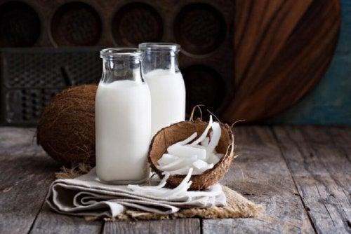 Du lait de coco