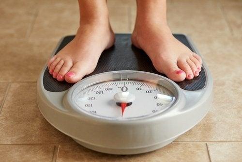 prendre du poids peut indiquer de la rétention d'eau