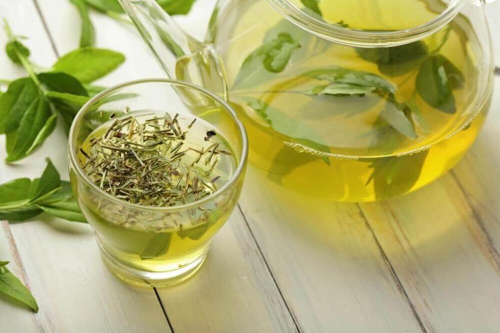 3 recettes de thé vert pour la graisse du ventre