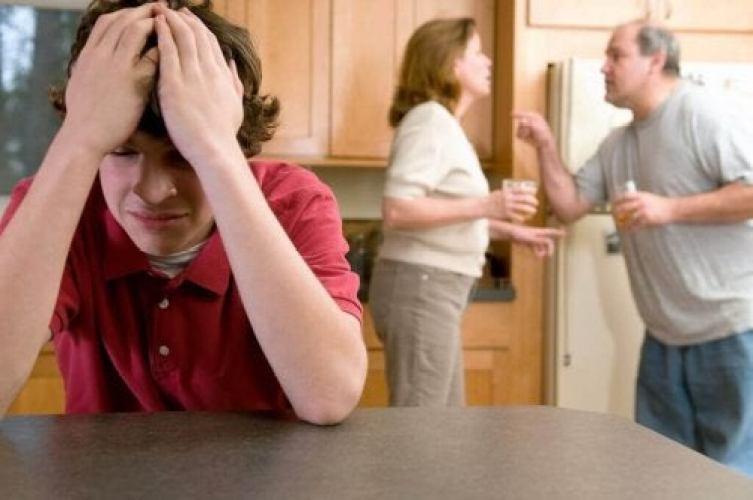 Répercussions des disputes des parents