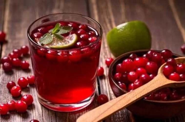 infusion de fruits : myrtilles et citron
