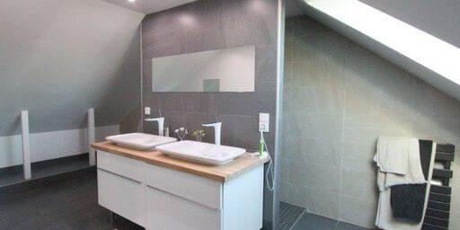 salle de bain douche a l italienne et