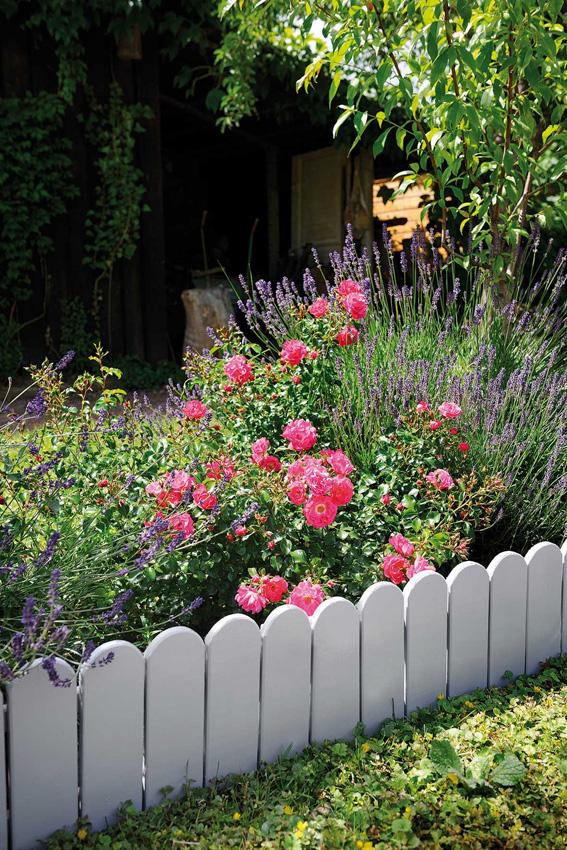 Bordure De Jardin En Bois A Planter | Retenue De Terre à Planter ...