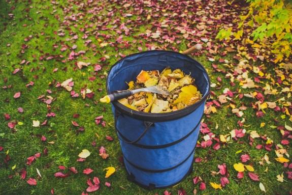 ramasser feuilles