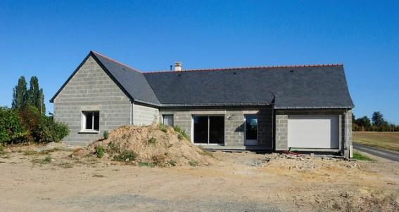 terre chantier maison