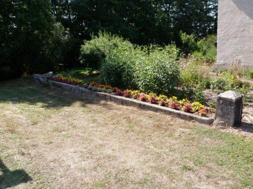 bordurettes ou bordures de mamie dans un vieux jardin à rénover