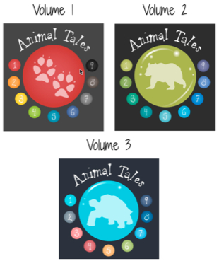 Animal Tales- Volumes 1-3
