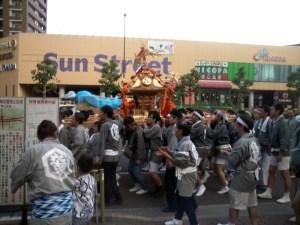 2015年亀戸神輿