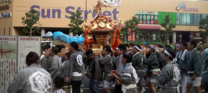 神輿!!!2015年亀戸6丁目!!!