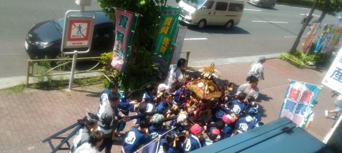 2016年亀戸 香取神社の例大祭