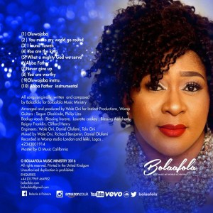 """New Album: Bolaafola's """"You Make my World Go Round"""" Album Now Available Online"""