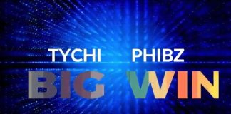 "New Lyrics Video: ""Big Win"" - Tychi Phibz"