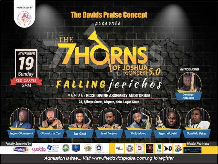 7 Horns of Joshua 2017 [www.AmenRadio.net]