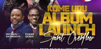 Album Lunch: Spirit Overflow - Kome Udu | AmenRadio.net