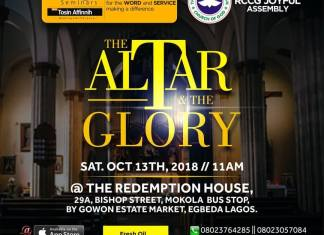 Podcast: The Altar & The Glory - Fresh Oil Seminar | October 2018