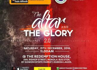 Podcast: The Altar & The Glory - Fresh Oil Seminar | December 2018