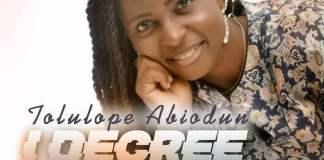 Gospel Music: I Decree - Tolulope Abiodun | AmenRadio.net