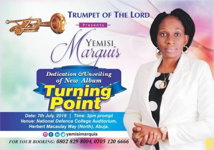 New Album: Turning Point - Yemisi Marquis