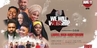 Gospel Event: We Will Worship 2019 - Livin' It Out | AmenRadio.net