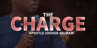 Download Apostle Joshua Selman Mp3: THE CHARGE {August 2019 Miracle Service}