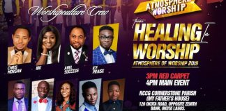 "TWC Media LTD Announces ""Atmosphere of Worship 2019"" tagged ""Healing Worship"""
