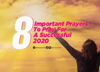 8 Important Prayers To Pray For A Successful 2020