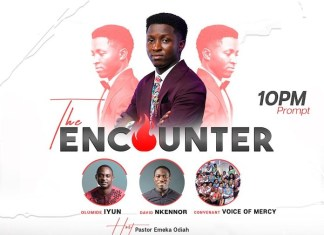 Event: The Encounter - Sunday Peters   Gospel Songs 2020