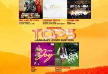 Download Top 5 Gospel Songs Mp3 - January 2020 Main