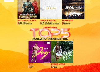 Download Top 5 Gospel Songs Mp3 - January 2020 Main