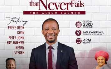 The Rock That Never Fails Album Launch - Dr Paul