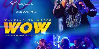 Download Video: Walking On Water [WOW] - Toluwanimee | Gospel Songs Mp3 Music