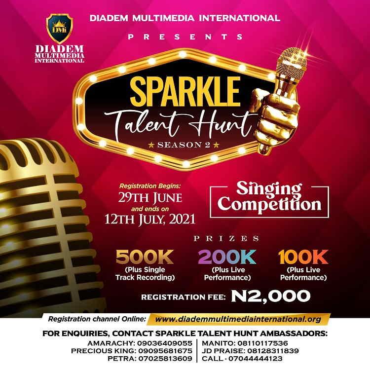 Registration For Sparkle Talent Hunt Season 2 Is On!!!