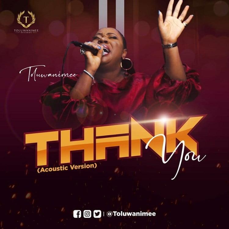Thank You - Toluwanimee