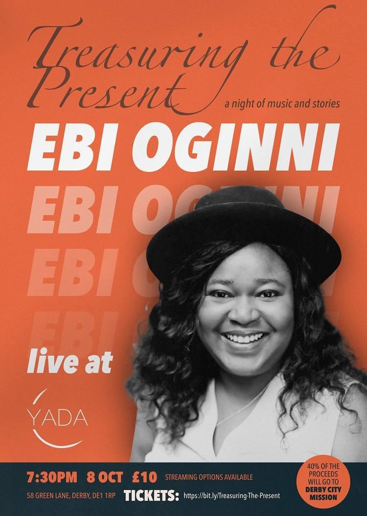 Treasuring the Present Live Mini Concert - Ebi Oginni