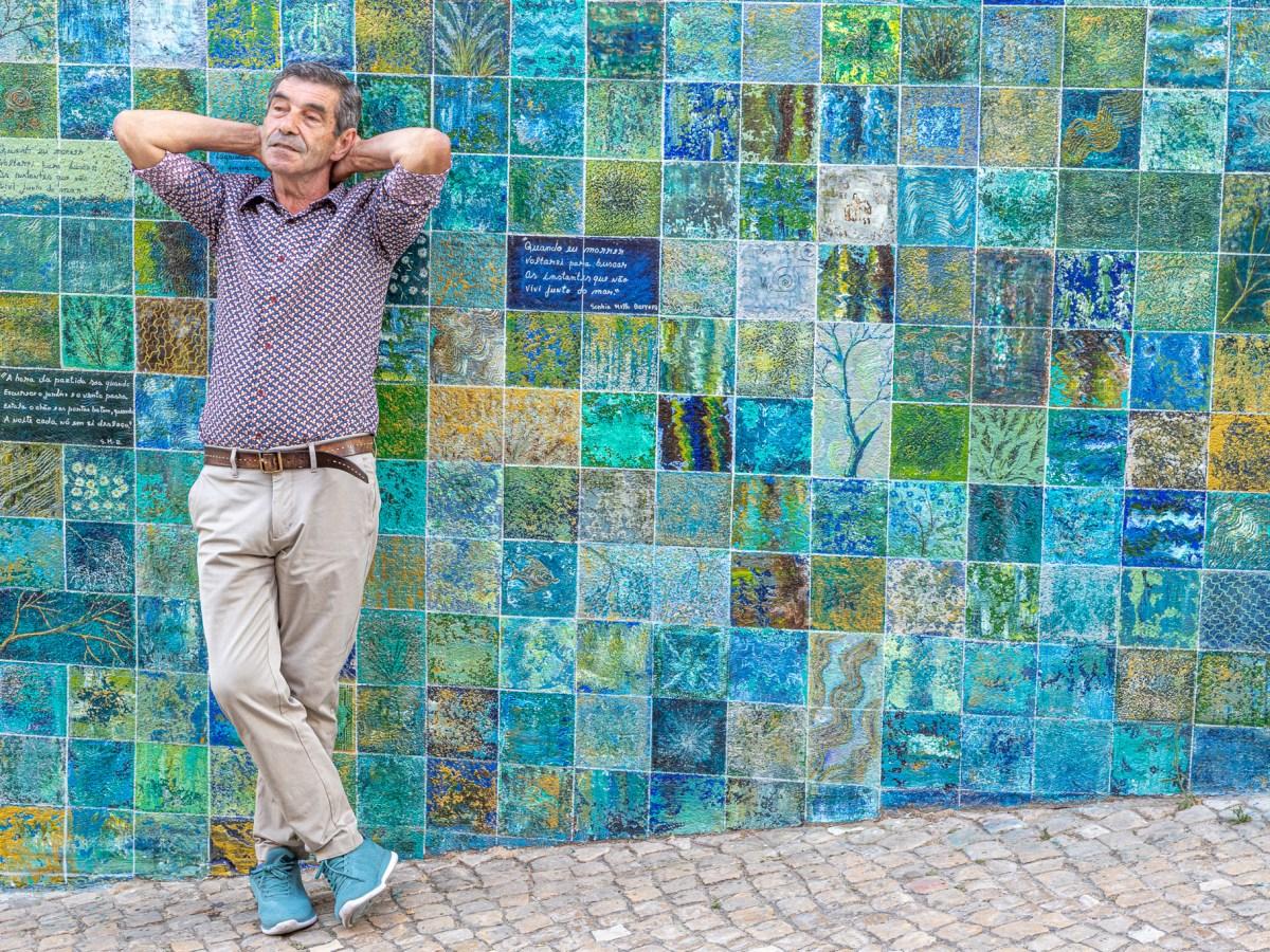 Jorge Romão, o artista que faz dos muros da Graça telas para pinturas Mural Sophia