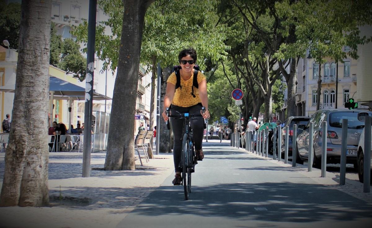 rosa félix ciclovia mulher bicicleta
