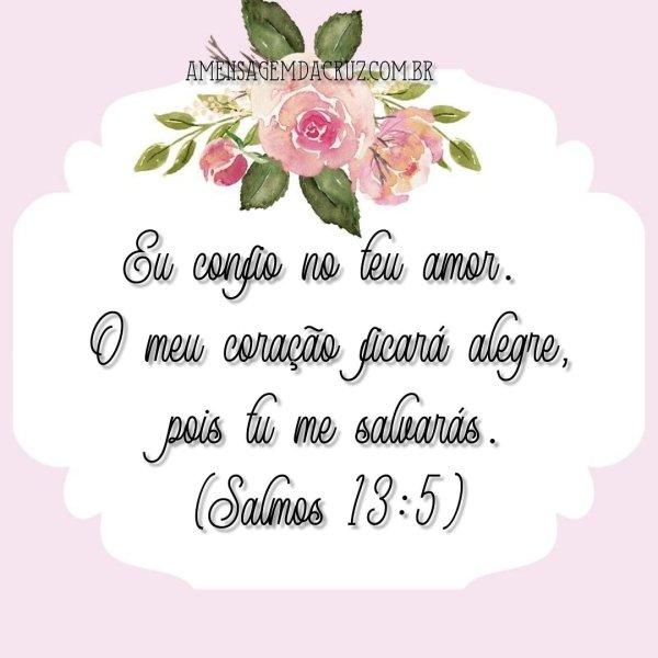Versículo Bíblico do Dia: Confiança no Amor de Deus