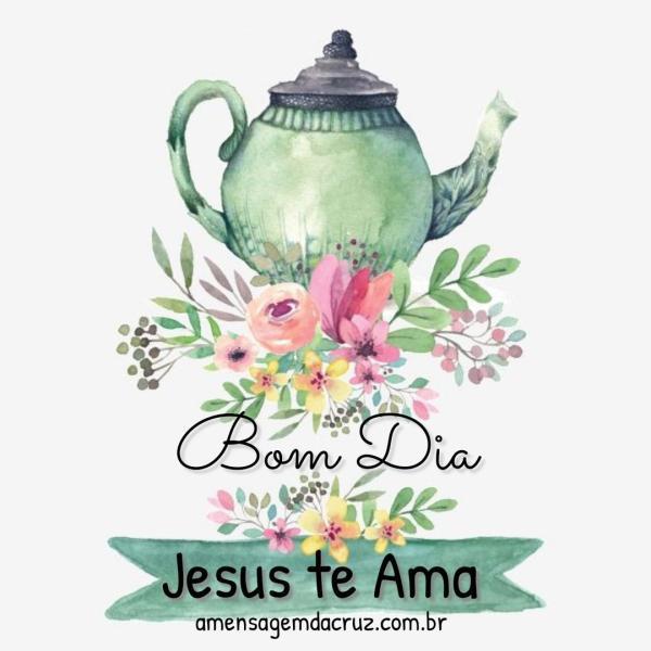 Jesus te ama - mensagem para instagram