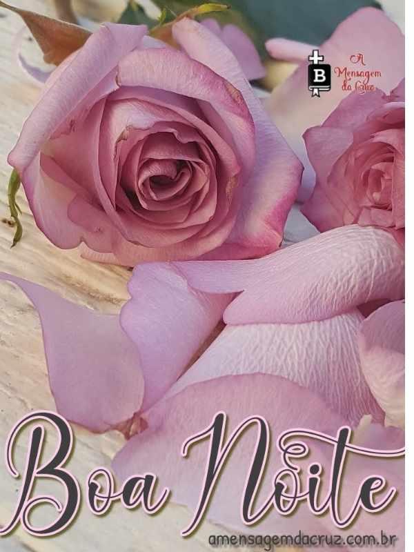Mensagem de boa noite,  linda e romântica